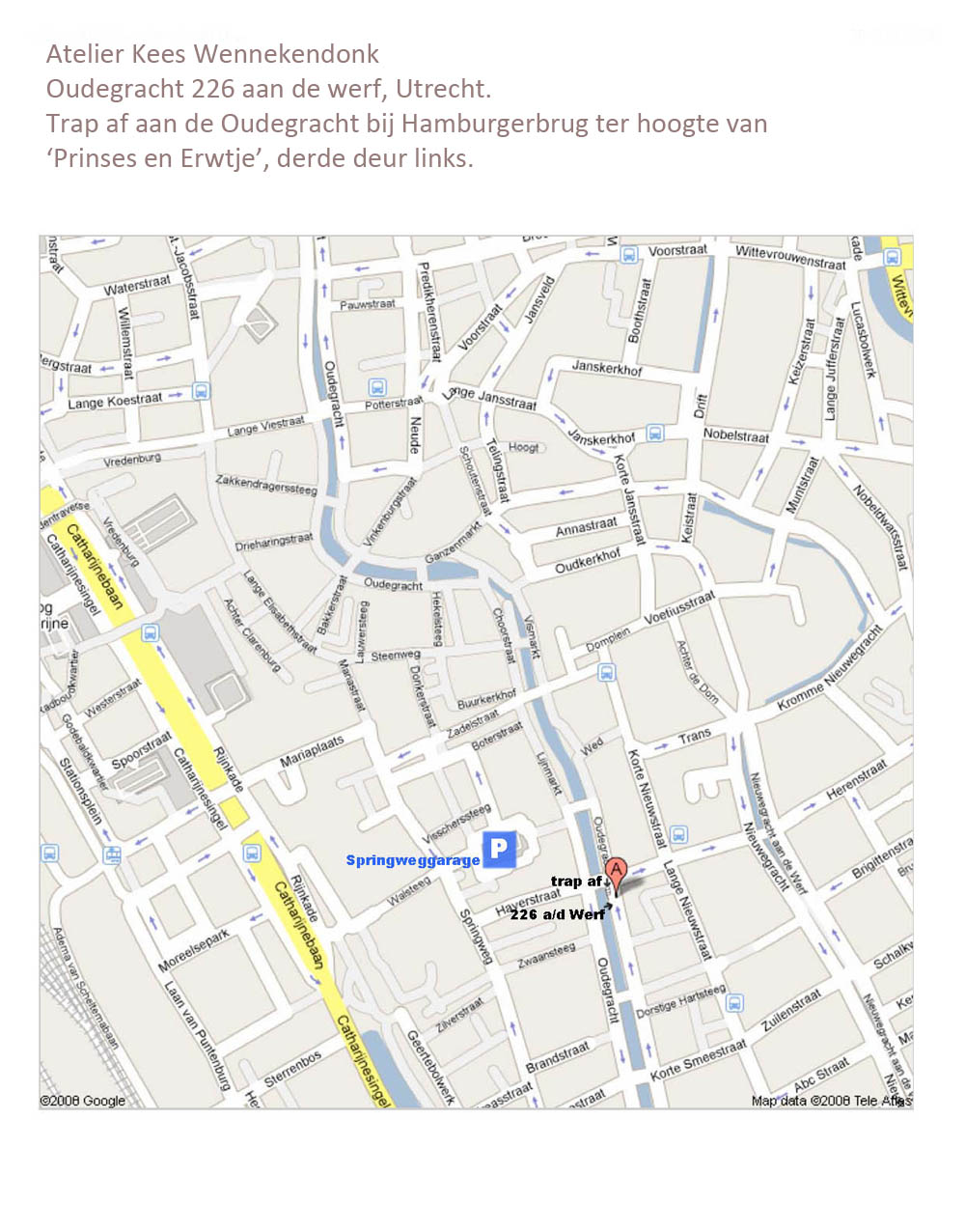 map atelier kees wennekendonk utrecht