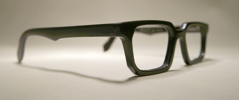 Buffelhoornen bril Kees Wennekendonk